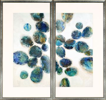 Picture of In A Blue Mood Diptych