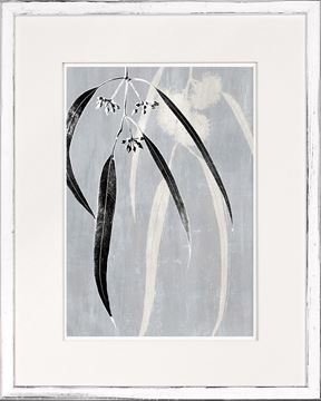 Picture of Botanical Overlay - Grey I - Sml