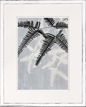 Picture of Botanical Overlay - Grey II - Small