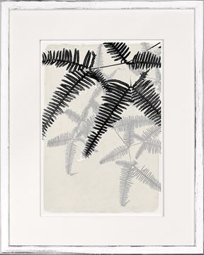Picture of Botanical Overlay - Cream II - Small