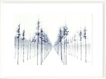 Picture of Indigo Landscape Series IV