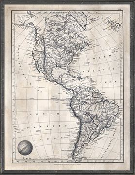 Picture of Map Arrowsmith, America 1825