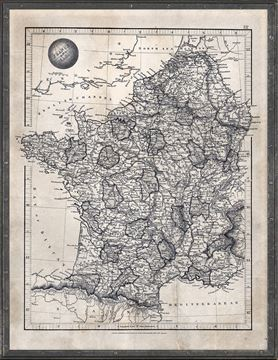 Picture of Map Arrowsmith, France & Belgium 1825