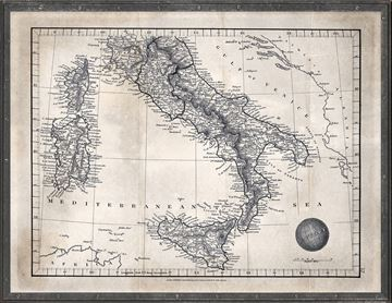 Picture of Map Arrowsmith, S. Italy 1825