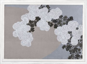 Picture of Woodcut - Chrysanthemums, 1909