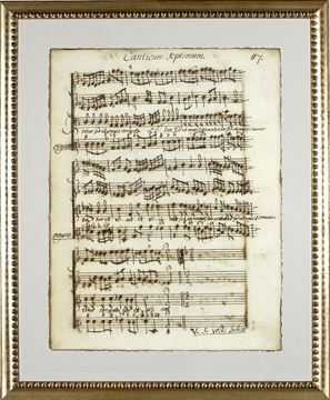 Picture of Latin Sheet Music - Pg 87