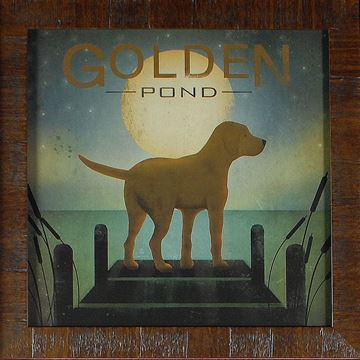Picture of Moonrise - Yellow Dog