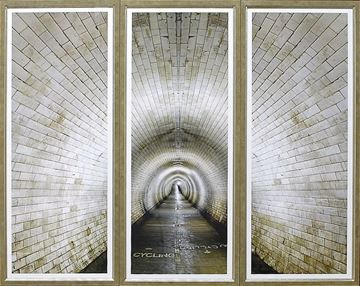 Picture of Cycling Tunnel Triptych - A S/3