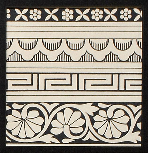 Picture of Ornamental Tile Motif III