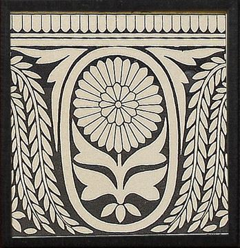 Picture of Ornamental Tile Motif VIII