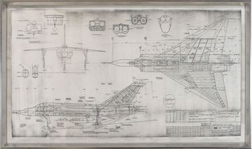 Picture of Blueprint - Avro Arrow - Grey