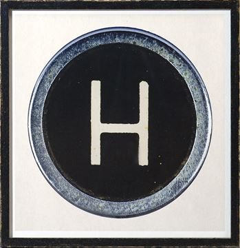 Picture of Type Key, H