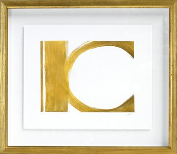 Picture of Motion In Gold I