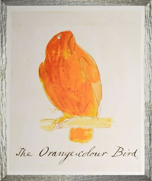 Picture of The Orange Colour Bird - Small