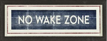 Picture of Sign - No Wake Zone