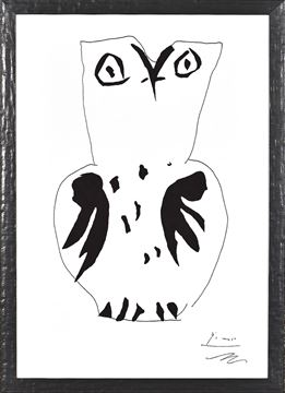 Picture of Picasso Owl - Lrg