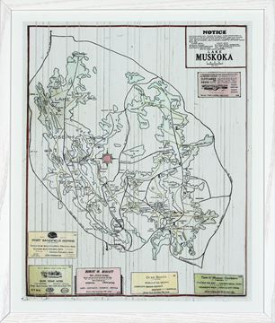 Picture of Muskoka Local Business Map I