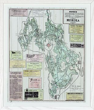 Picture of Muskoka Local Business Map II