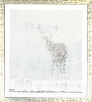 Picture of Deer Silhouettes - Taupe II