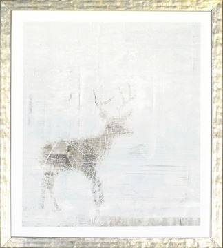 Picture of Deer Silhouettes - Taupe IV