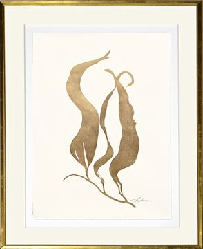 Picture of Gilded Sea Weed I