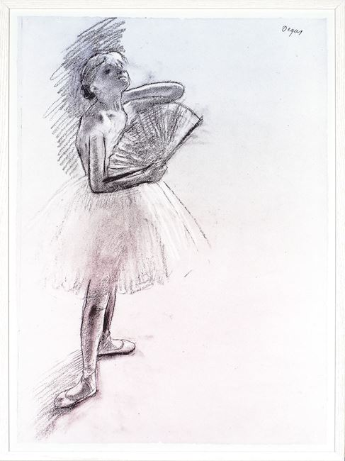 Picture of Degas - Dancer With Fan