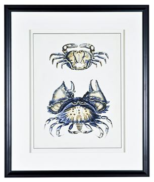 Picture of Antique Blue Crabs I
