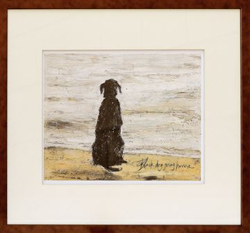 Picture of Toft - Black Dog Going Home