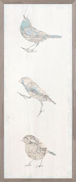 Picture of Vintage Map - Bird Panel II