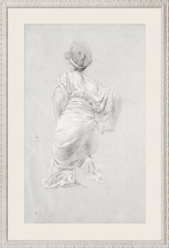 Picture of Curated - Drapery Study (Figure)