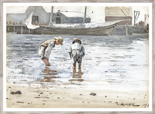 Picture of Homer - Boys Wading