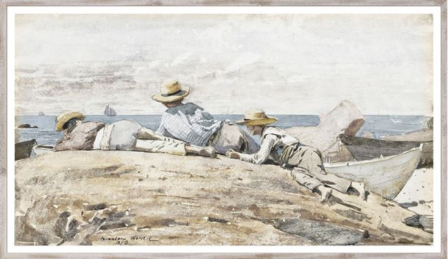Picture of Homer - Three Boys On The Shore