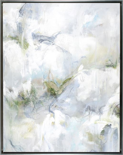 Picture of Lichen Dreams - Right - Framed Canvas