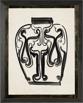 Picture of Cachet Vase IV - Black - Sml