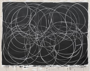 Picture of Chalk Circles - Gallery Wrap Canvas