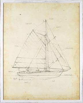 Picture of Sailboat Blueprint III