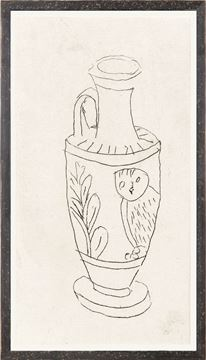 Picture of Collection 12 - van den Bos, Owl Jar - 1790