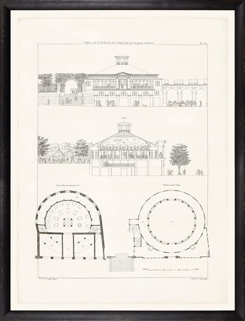 Picture of Parisienne Plan I Circa 1745-1810