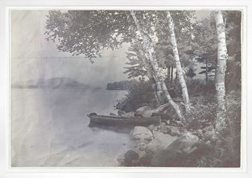 Picture of Indigo Stained - Lake George