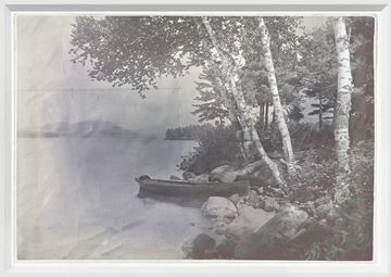 Picture of Indigo Stained - Lake George - Small