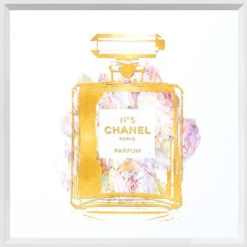 Picture of Perfume with Flowers