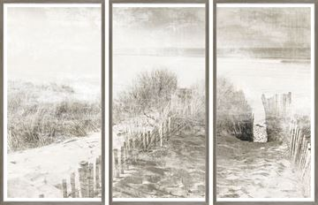 Picture of Beach Side Memory - Triptych