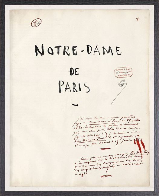 Picture of Notre Dame De Paris - Victor Hugo