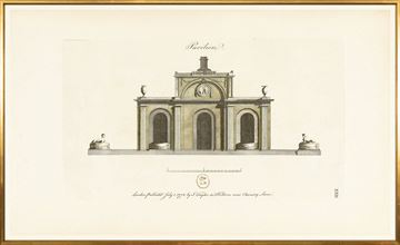 Picture of Engraving - Pavilion I, 1778 - Large