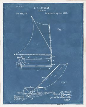 Picture of Patent - Sailboat