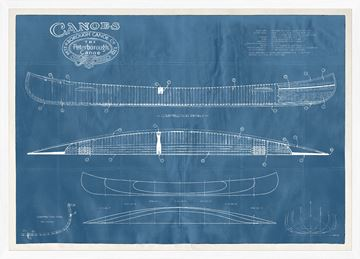 Picture of Peterborough Canoe Patent