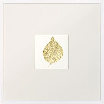 Picture of Gold Foil Leaf II
