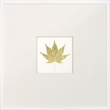 Picture of Gold Foil Leaf VI