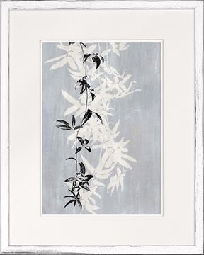 Picture of Botanical Overlay - Grey V - Small