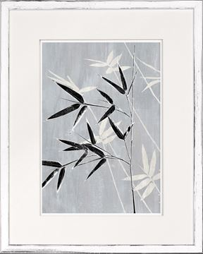 Picture of Botanical Overlay - Grey VIII Small